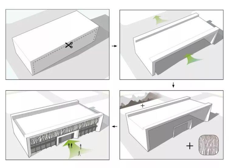 现代简雅风格售楼处建筑设计,感受自然的光影交错_9