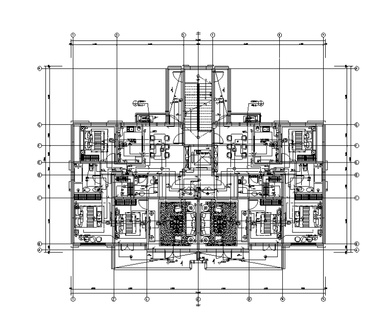 北京住宅混合公建(配建经适房)项目弱电施工图