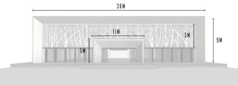 现代简雅风格售楼处建筑设计,感受自然的光影交错_10