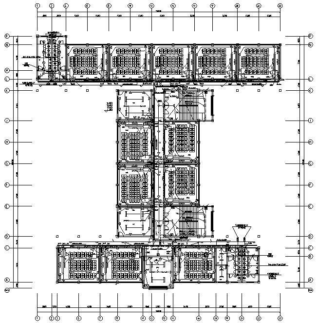 重庆中学校教学楼电气施工图纸