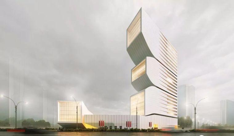 """又见新型设计——""""悬浮体""""高层建筑方案"""