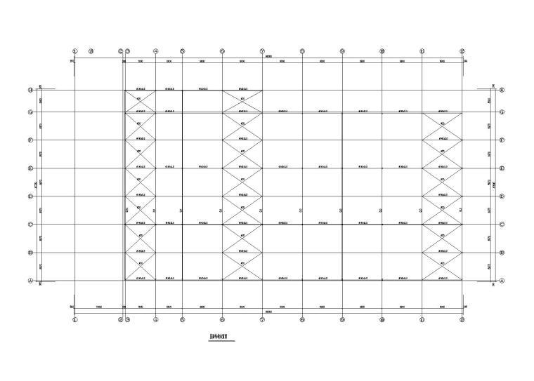 单层钢-砼结构商场建筑结构施工图2016