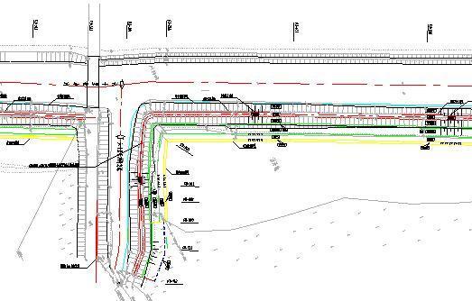 堤防加高、防渗、建筑物加固及新建工程图纸(附工程量清单)