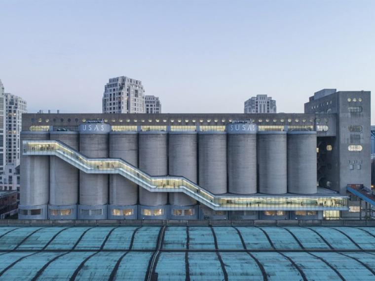 上海民生码头8万吨筒仓改造项目