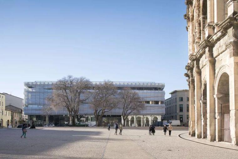 商业综合体建筑设计案例:法国Muséede laRomanité博物馆