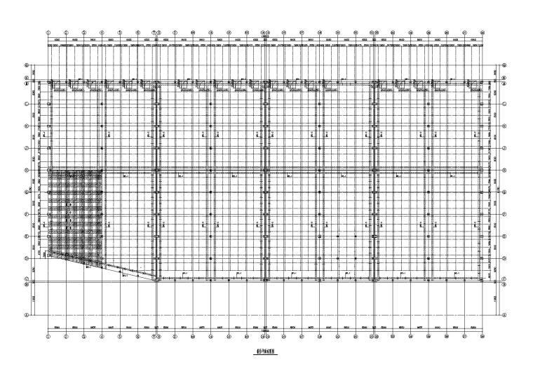 单层门式刚架体育用品仓库建筑结构施工图
