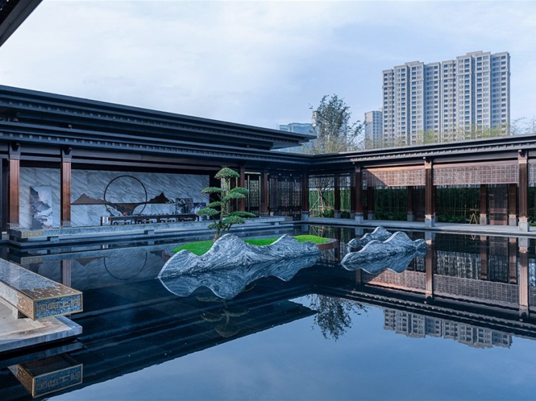 内江邦泰·国宾上院示范区景观