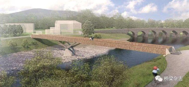 一座充满历史环境挑战的英国人行桥