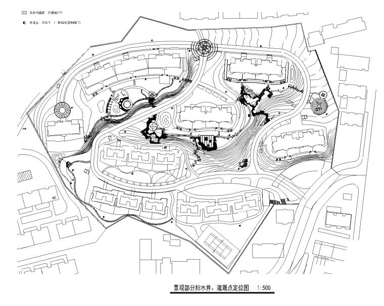 3 景观部分排水井系统定位图_看图王