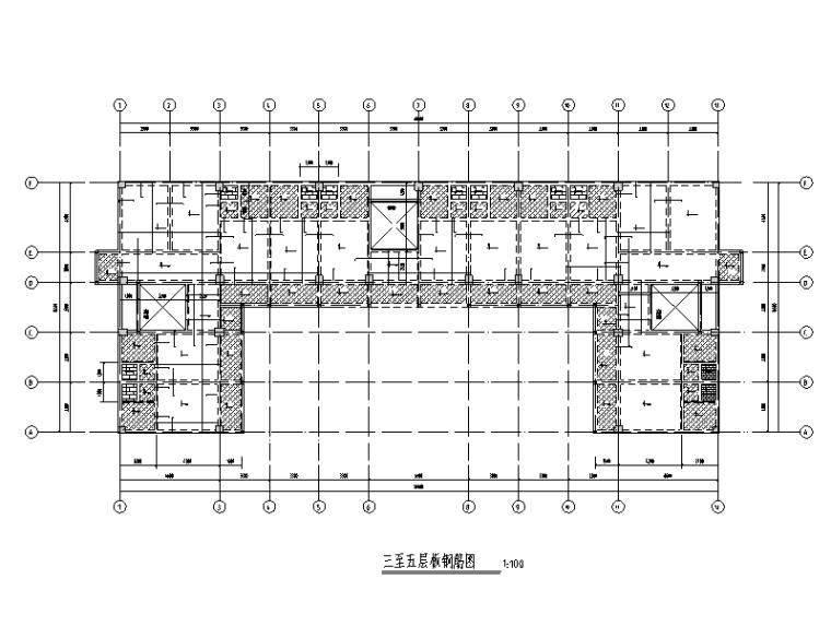 六层框架结构学生宿舍楼毕业设计(建筑结构图计算书)