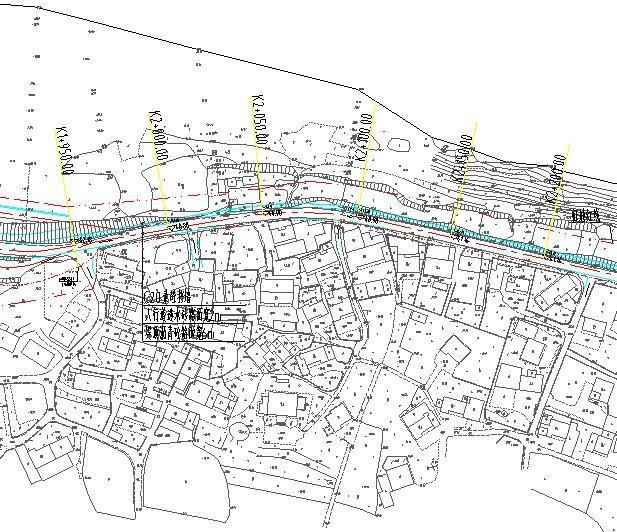 堤防整治工程初步设计图纸(含地勘报告)