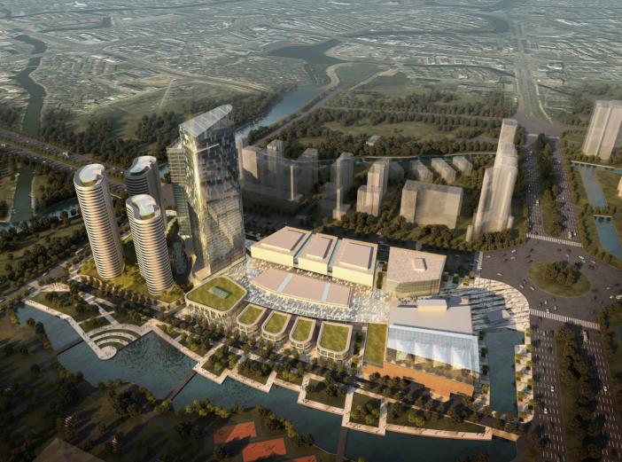 [浙江]乐清市中心区A地商贸中心规划设计方案文本