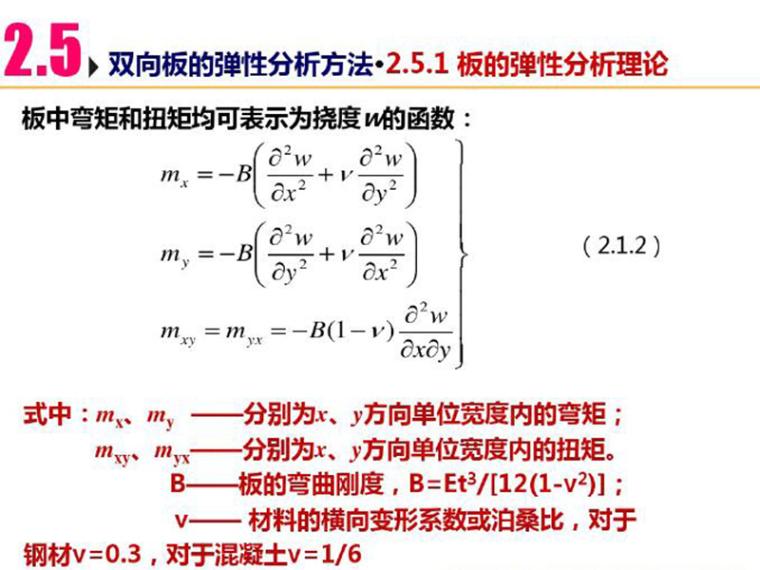 双向板的弹性分析方法(PDF,共18页)