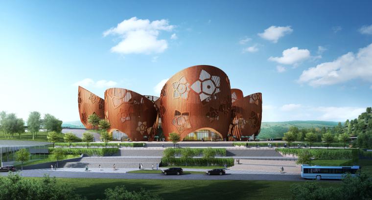 贵州省麻江县蓝莓工坊项目游客中心(施工图设计)