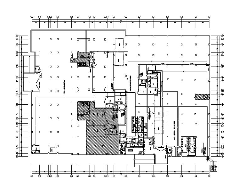 浙江商业广场人防地下室电气施工图