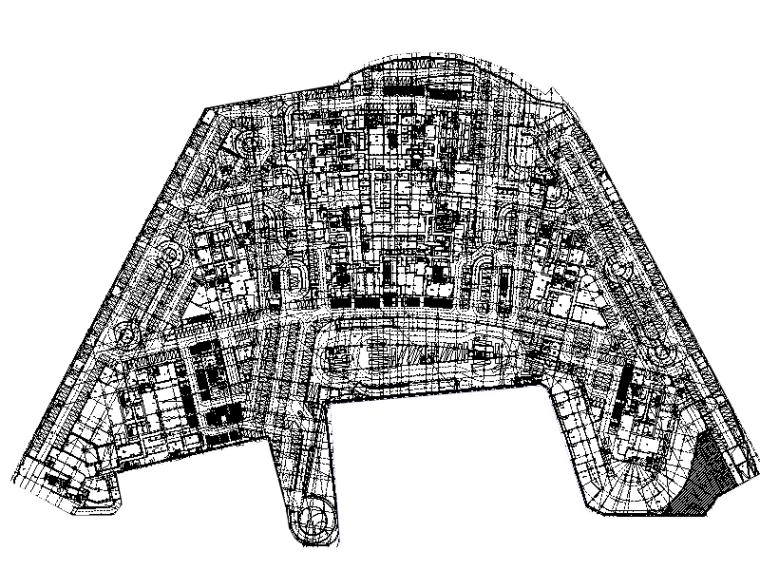 重庆知名大型广场强电施工图509张(知名大院,含变压器负荷统计、审图意见)