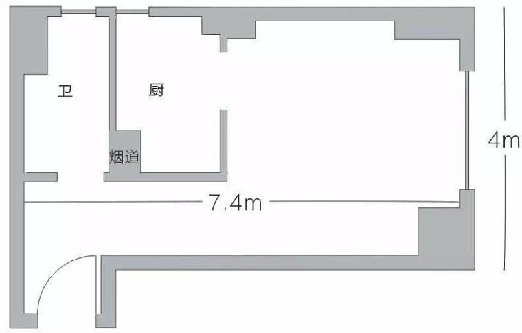 """30平米的小房子, 来设计室内空间的""""黑操作"""""""