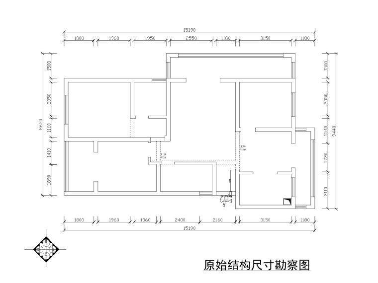 [江苏]阳光装饰—常州望湖御景高档公寓楼深化方案+cad施工图图片