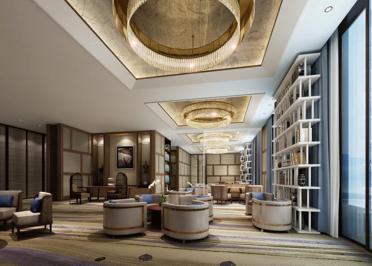 [云南]CCD-抚仙湖希尔顿酒店全套设计资料-设计方案、高清效果图