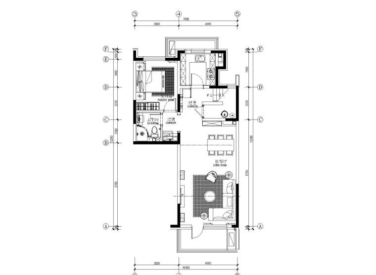 Matrix矩阵纵横-北京路劲国际城叠拼户型精装施工图+设计方案+软装方案+物料