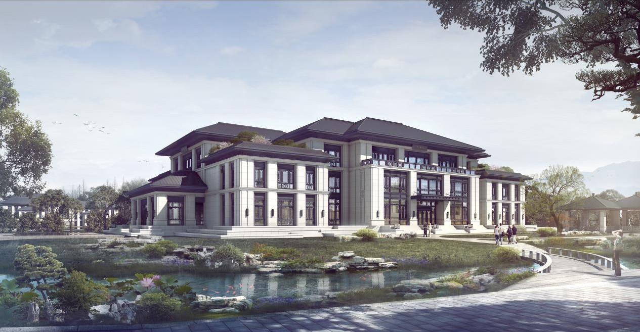 [淮安]严庄五味书院规划和建筑设计丨高清效果图丨34P