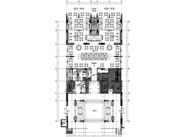 [福建]Layan+金螳螂-厦门璞尚酒店室内装修CAD施工图+效果图(附机电图)