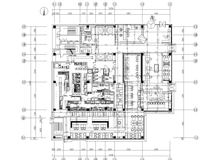 [浙江]西溪精品民宿酒店设计施工图+效果图