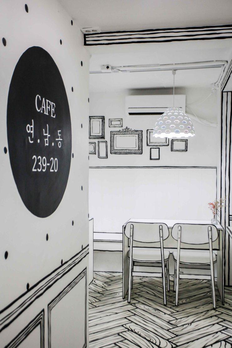 [咖啡店]CafeYeonnam-dong官方摄影及设计说明