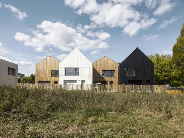 法国生物材质街区住宅