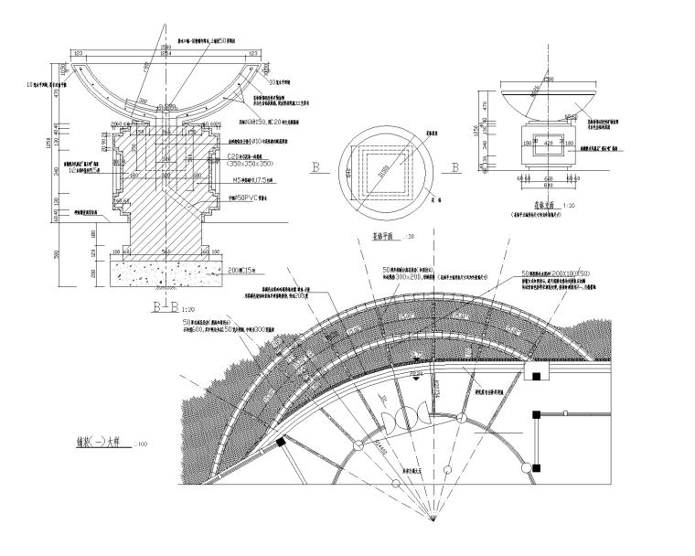 70套花坛花钵CAD施工图(1-35)