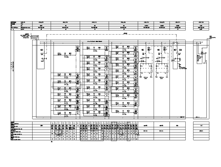成都三层厂房强电竣工图(CAD+PDF)