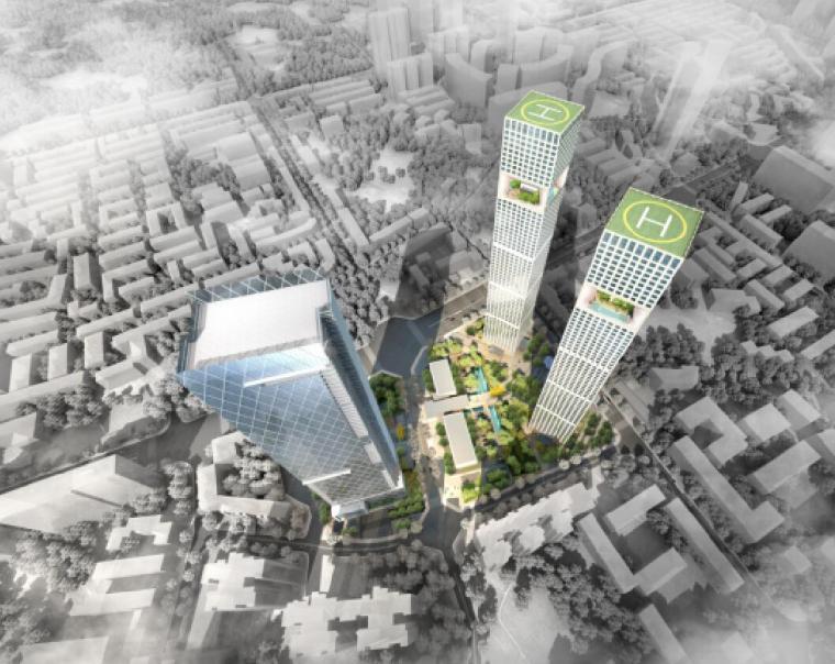 成都市东大街45亩项目建筑方案设计技术标-联创UDG(158页)