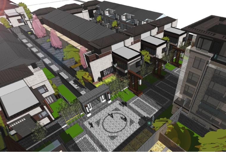 [上海]新江湾城上海院子建筑规划建筑设计概念方案(日清设计|PDF+114页)