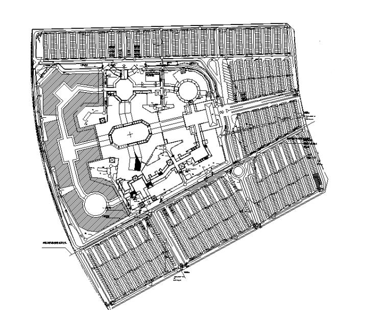 武汉商业购物街电气消防图纸(CAD+PDF)