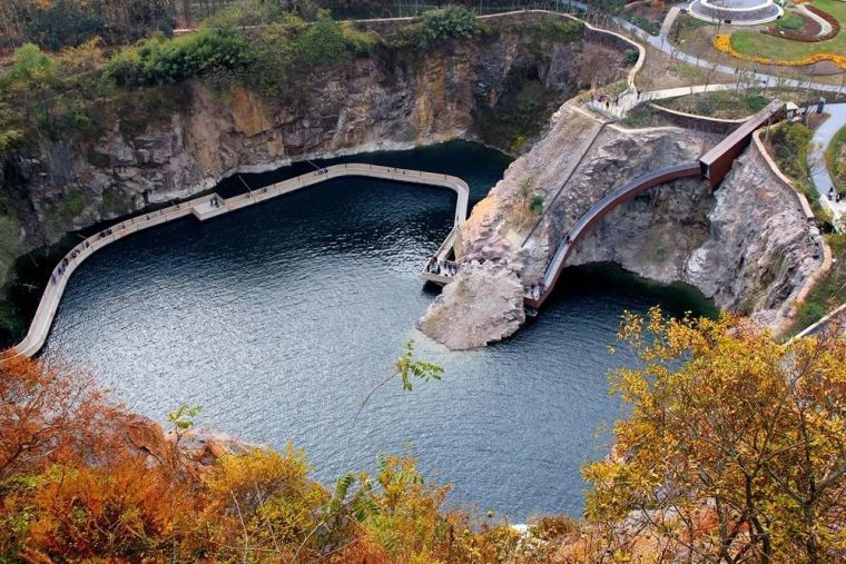 景观生态修复|4个经典矿坑公园案例分享+全国矿坑现状简介_98
