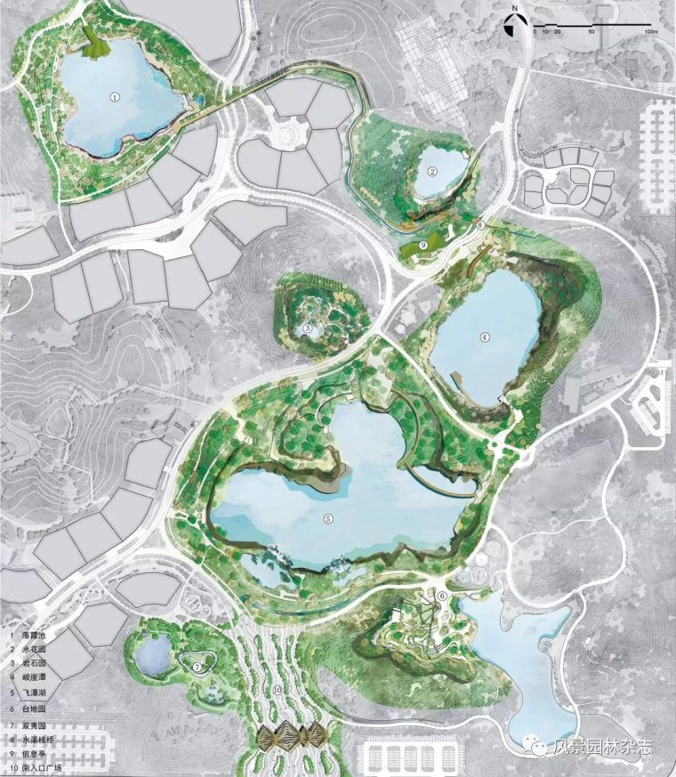 景观生态修复|4个经典矿坑公园案例分享+全国矿坑现状简介_109
