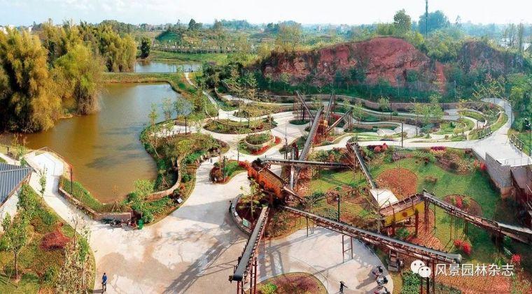 景观生态修复|4个经典矿坑公园案例分享+全国矿坑现状简介_131