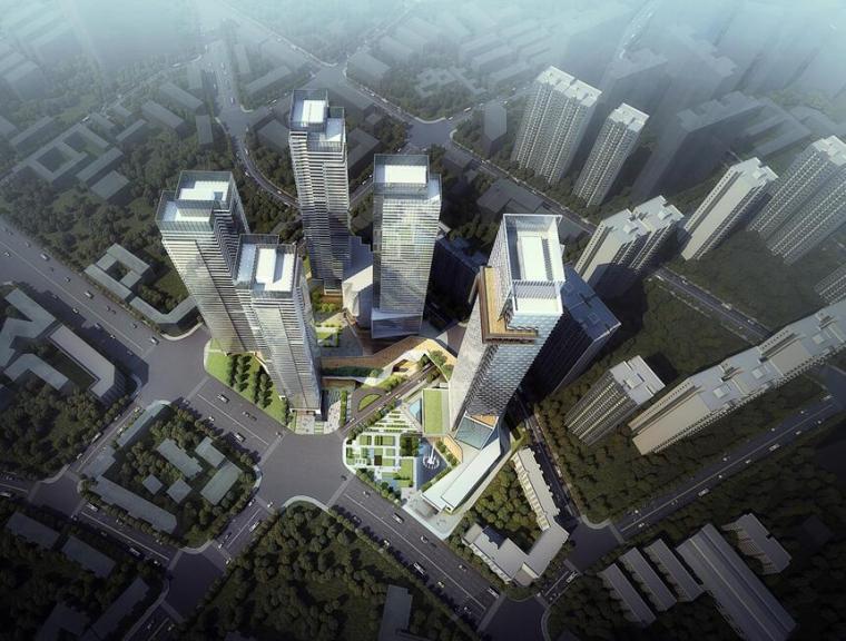 [四川]锦绣东大街现代风格品质豪宅建筑概念方案设计(天华&EID设计|PPT+200页)