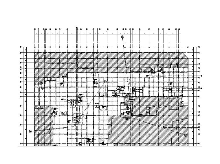 [上海]地下二层车库人防结构施工图(2015)