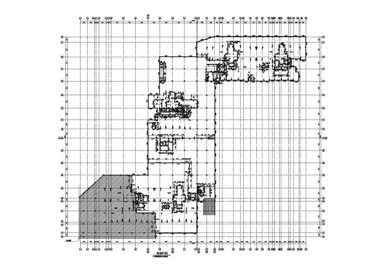 [广西]住宅小区人防地下室结构施工图2017