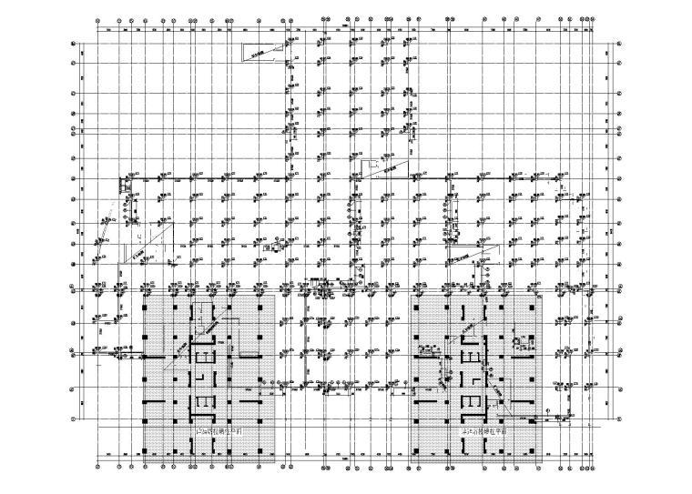 万科西城配套防空地下室全套施工图(建筑结构水暖电)