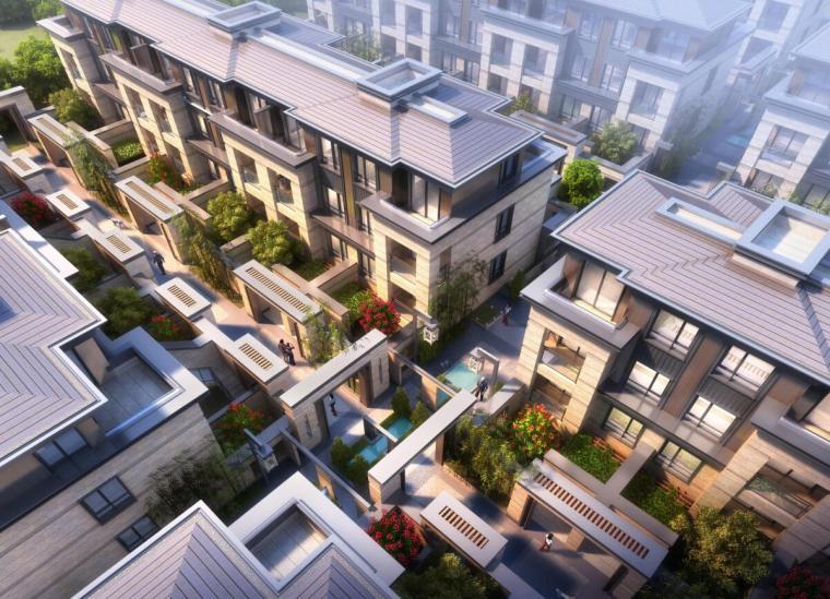 [上海]信达泰禾上海院子建筑方案设计天华设计(PDF+136页)