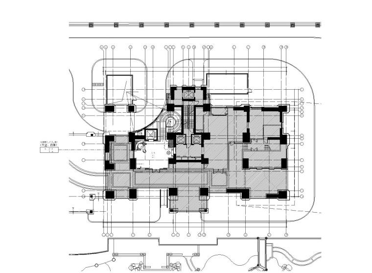 [上海]CCD-上海浦东恒大滨江华府会所+住宅首层泛会所装修施工图+效果图+材料表