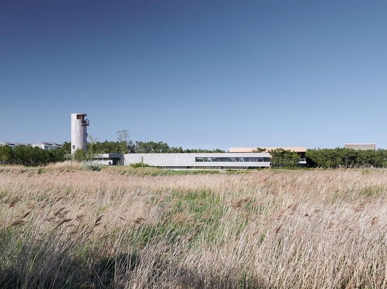 山东天鹅湖湿地公园景观廊及观鸟塔