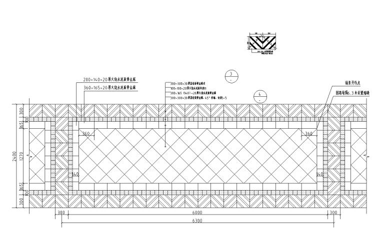 景观细部施工|高端标准园路铺装(直线系列)