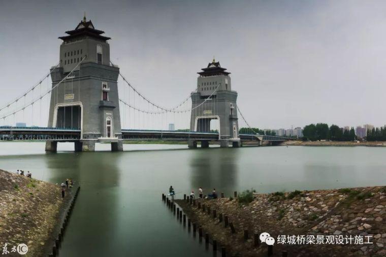 """既美观又实用的世界首座""""悬索+塔楼""""景观桥,江苏扬州万福大桥"""