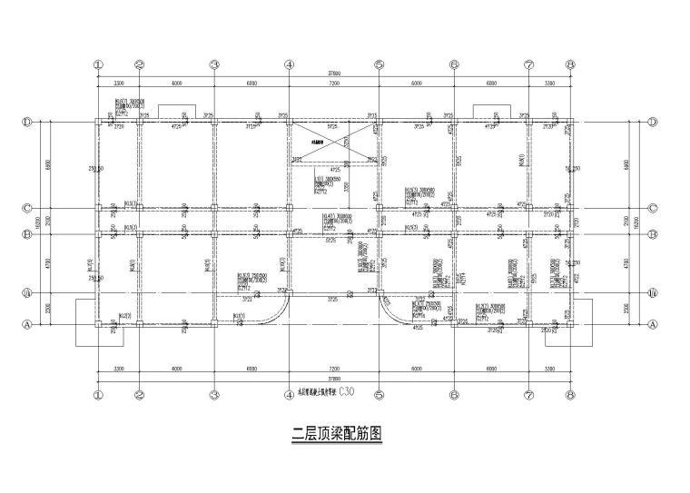 4层框架结构办公楼结构施工图