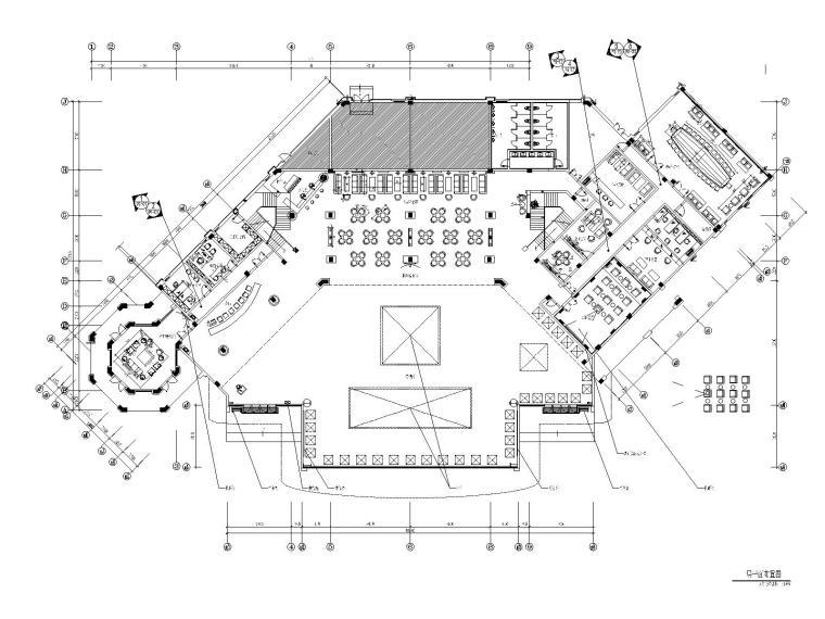 [福建]品川-福州名城销售大厅&酒店大堂室内装修施工图纸