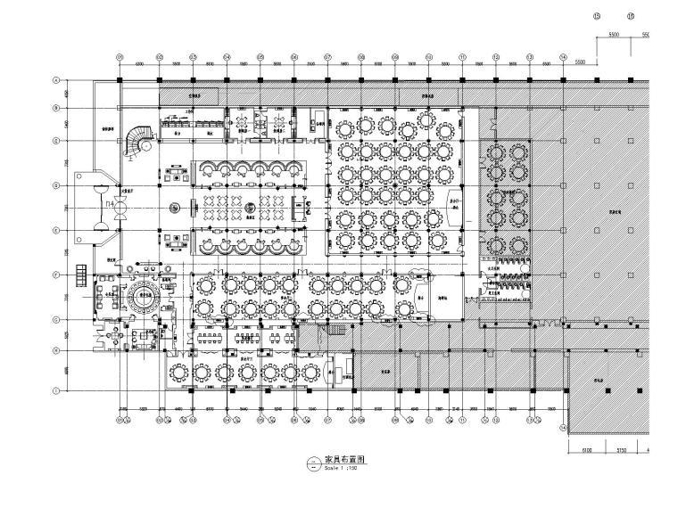 [上海]红子鸡大酒店一层装饰改建项目施工图