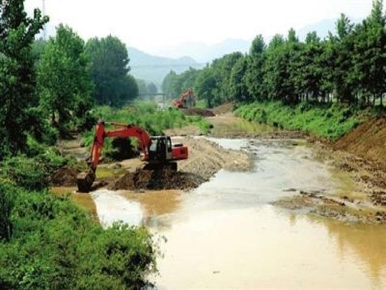 河道治理施工组织设计